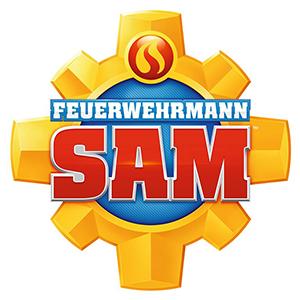 Feuerwehrmann Sam Merchandise Logo Hartfelder Marken- und Qualitätsspielzeug Hamburg