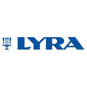 Lyra Schreibwaren Logo Hartfelder Marken- und Qualitätsspielzeug Hamburg