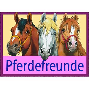 Pferdefreunde Fanartikel Logo Hartfelder Marken- und Qualitätsspielzeug Hamburg