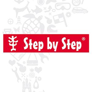Step by Step Schulranzen Logo Hartfelder Marken- und Qualitätsspielzeug Hamburg