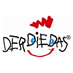 DerDieDas Schulranzen Logo Hartfelder Marken- und Qualitätsspielzeug Hamburg